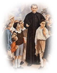 MEMORIAL OF ST. JOHN BOSCO-FRIEND OF THE YOUTH